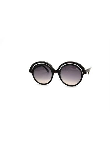 Emilio Pucci  Ep 0065 01B Kadın Güneş Gözlüğü Füme